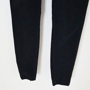 Tory Burch Pants - Tory Burch Black Skinny Corduroy Pants